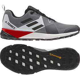 adidas TERREX Two Shoes Men, grey three/core black/active red